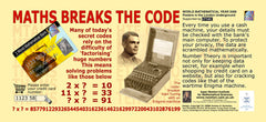 Maths Goes Underground - Maths Breaks The Code Poster