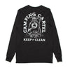 Keep It Clean Long Sleeve Tee - Camping Cartel