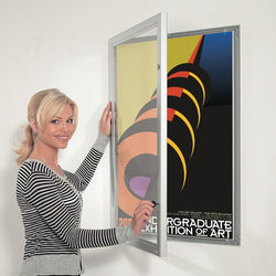 External Outdoor Poster Case in 7 Sizes