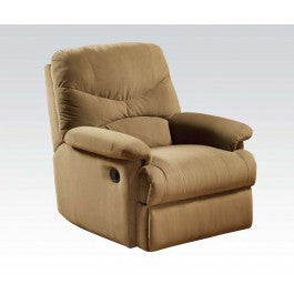 ACMEF00627-Light Brown Microfbr Recliner