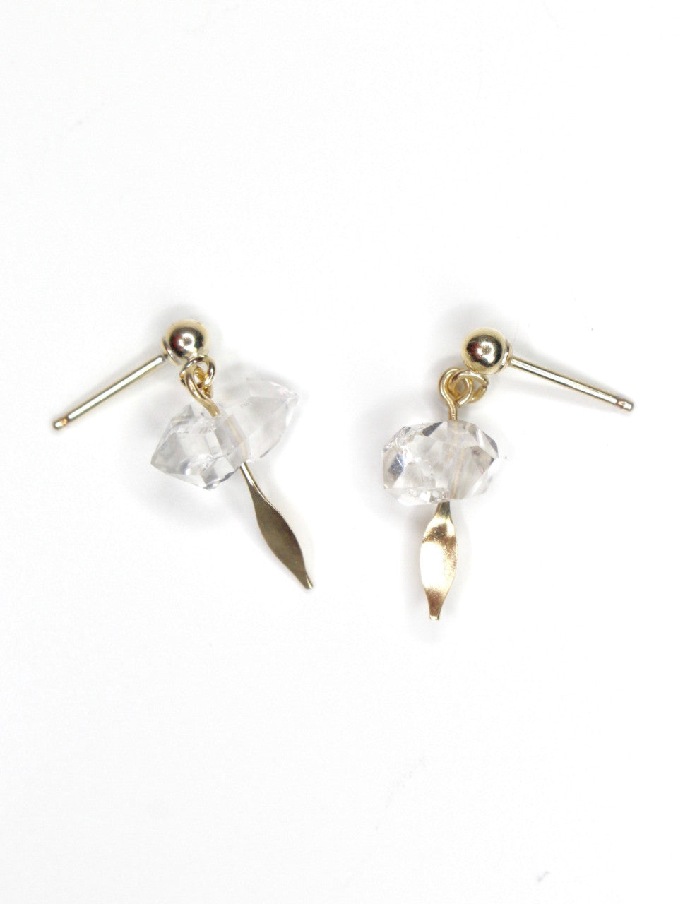 STONE OF ASCENSION • Herkimer Diamond Studs