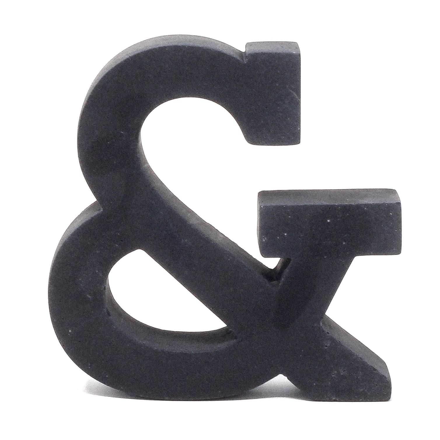Concrete Ampersand: Carbon Black
