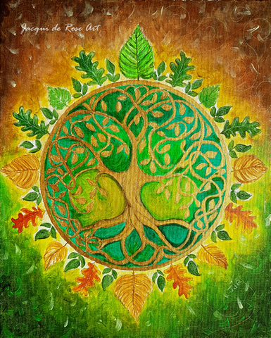 Limited Edition - Signed - Giclee Print  - A - Tree of Life