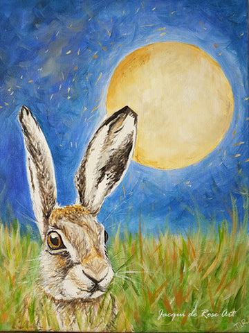 "Card - 7 x 5"" - Animal - Litha Hare"