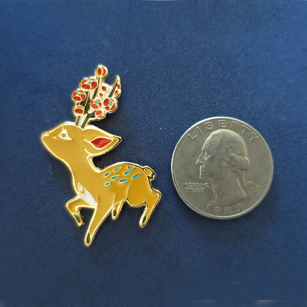Forest Spirit: Fawn pin