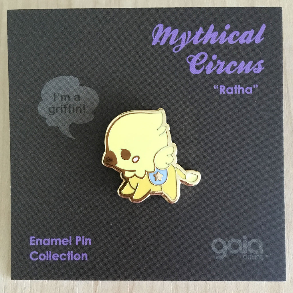 Mythical Circus: Griffin Pin
