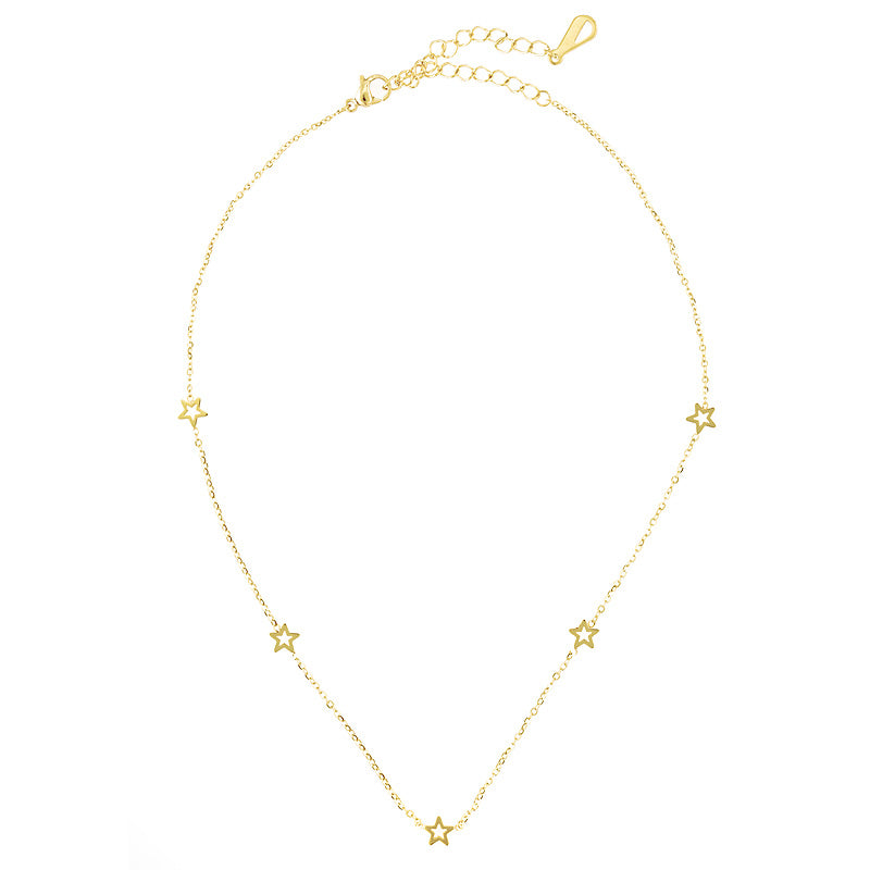 Star Girl Gold Choker