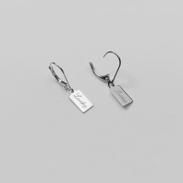 Silver Happy Go Lucky Earrings