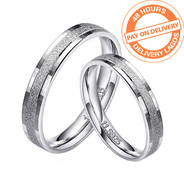 925 sterling silver couple ring men and women silver jewelry engagement wedding set girl love jewelry design R4352SBuy mate