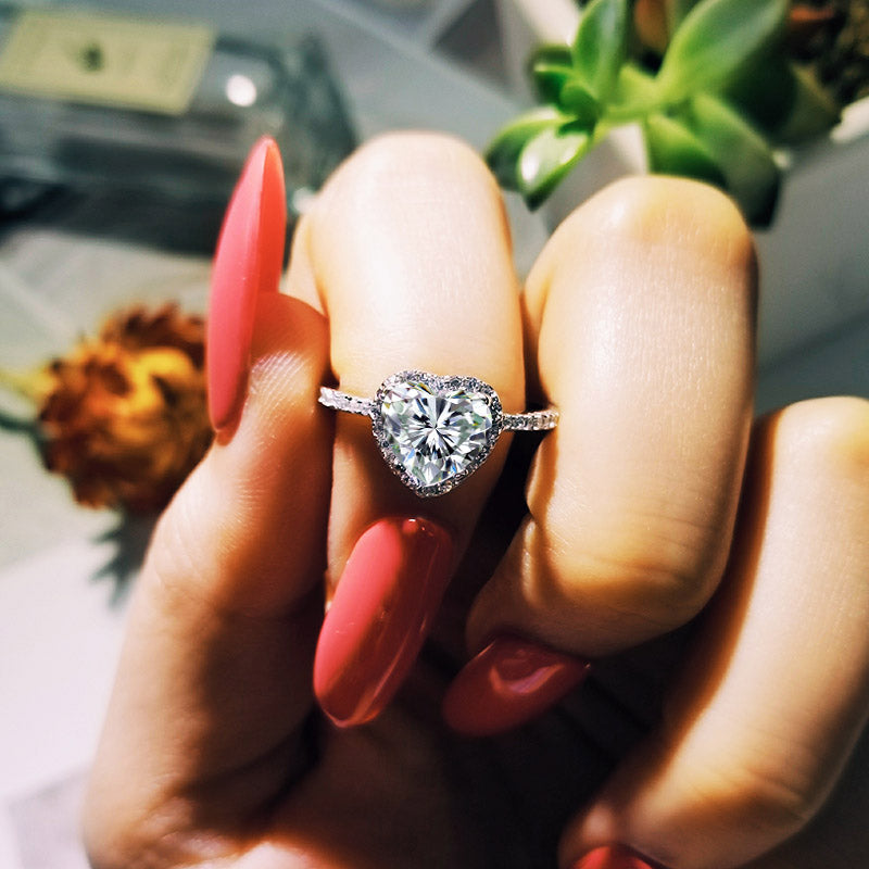 925 Sterling Silver Ring Finger Flower Ring for Women Jewelry Pure R1707SBuy mate