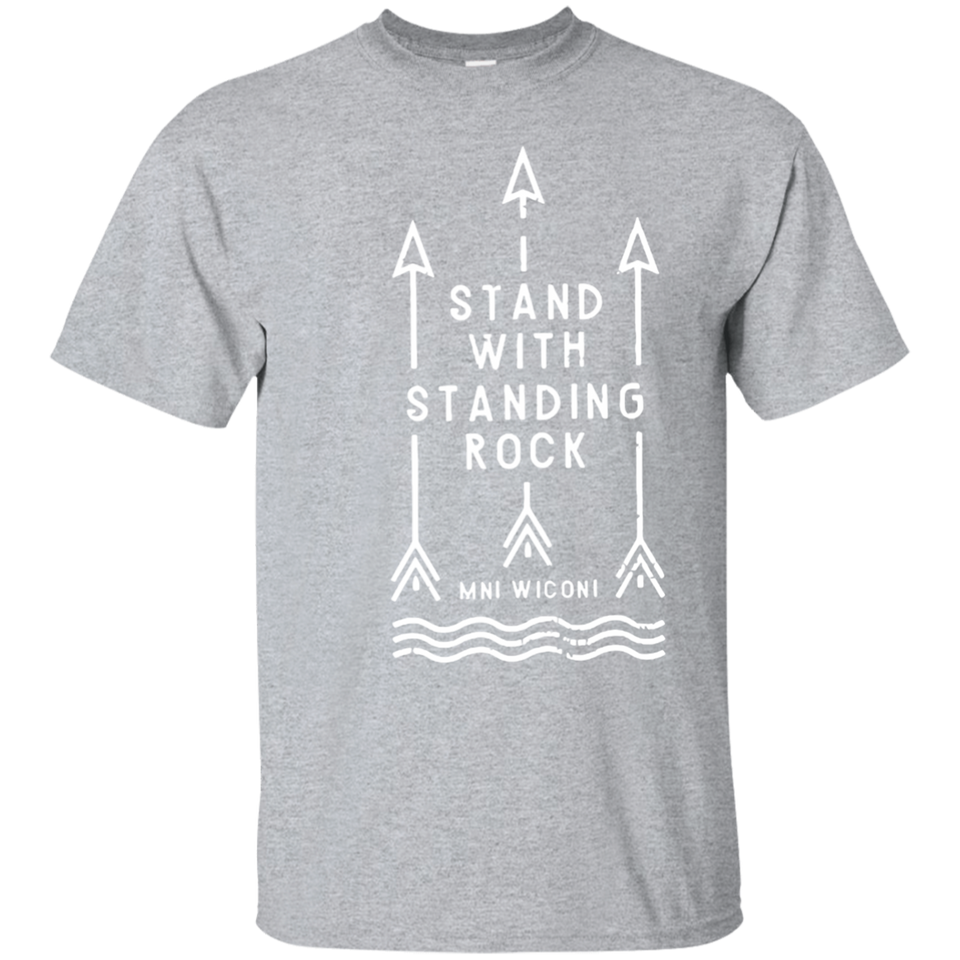 Stand With Standing Rock Water Is Life MNI WICONI T Shirt - newmeup