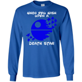 When You Wish Upon A Death Star SWEATSHIRT - Newmeup