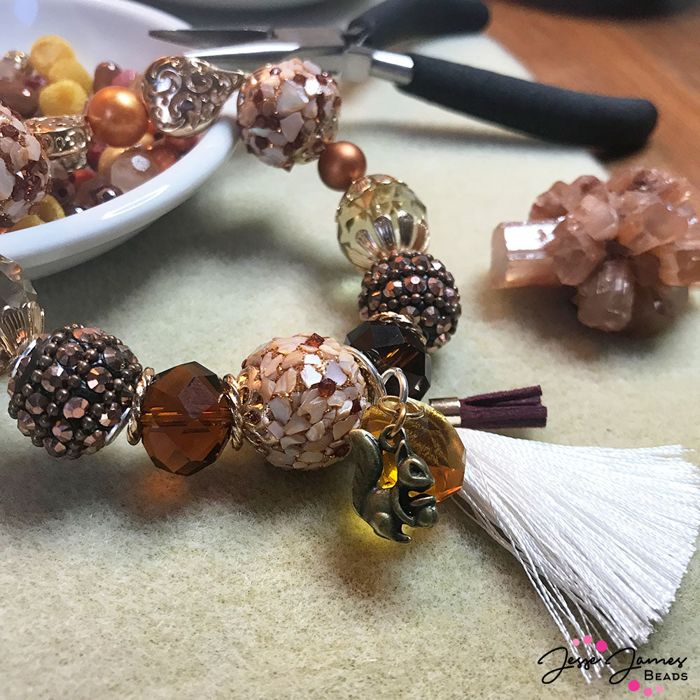 How-To Video: Tassel Dangles For Stretch Bracelets