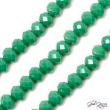 Seaglass Green 10MM Glass Bead Set