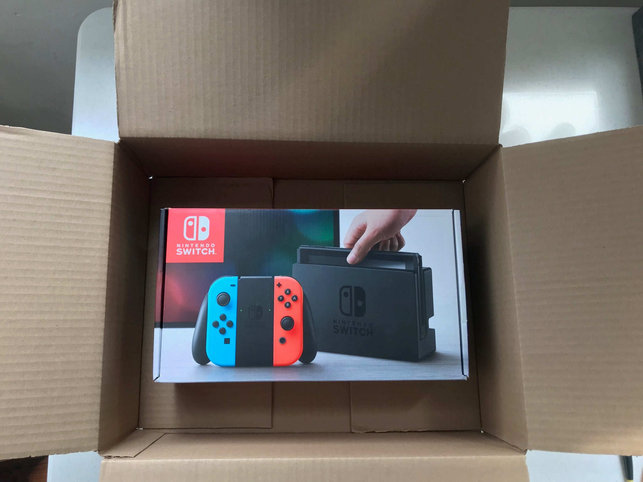 Nintendo Switch Shipping Kit
