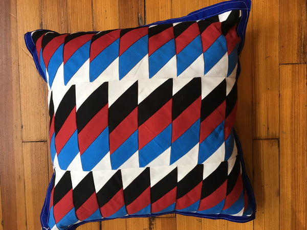 One Side, Patchwork Pillow.