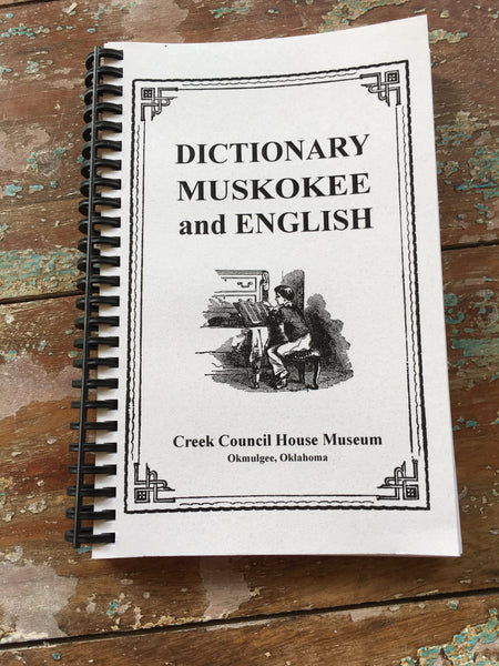 """MVSKOKE to English Dictionary"""