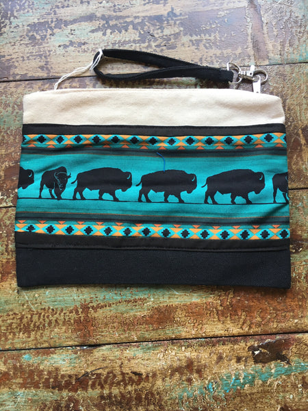 Buffalo Clutch Purse