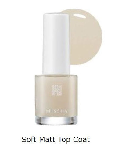 Self Nail Salon_Care Look (Soft Matt Top Coat) - Missha Middle East