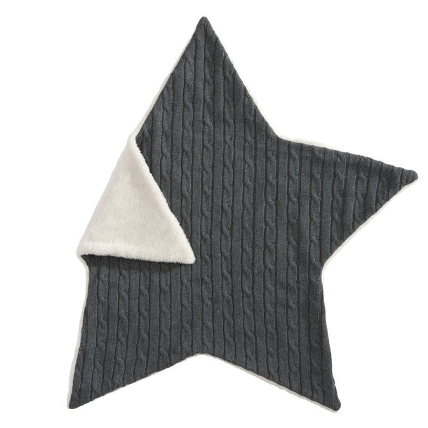Cable Star Blanket