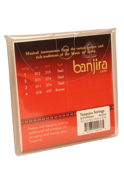 banjira Miniature Tanpura String Set