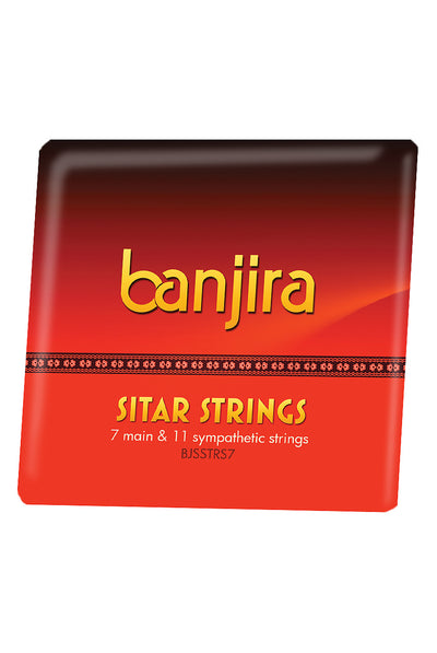 banjira 7-String Sitar String Set - Light - Sitar String Sets - BJSSTRS7