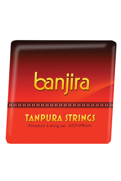 banjira Miniature Tanpura String Set - Tanpura Accessories - BJSTNPRMM