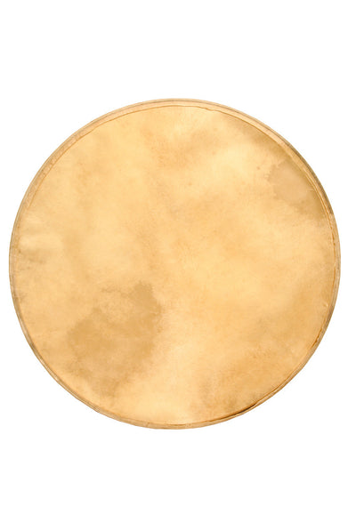"Roosebeck Premounted Goatskin Head for Outside Tunable Bodhran 18"" - Bodhran Accessories - SH18G"