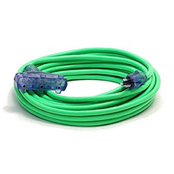 Century Wire Pro Glo Triple Tap 100 ft. Extension Cord (Green)Liquid error (product-grid-item line 33): comparison of String with 0 failed