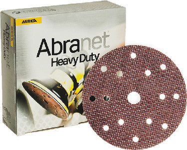 Mirka Abranet Heavy Duty 6 in. 15 Hole Grip Disc 80 Grit, 25 pk.Liquid error (line 13): comparison of String with 0 failed