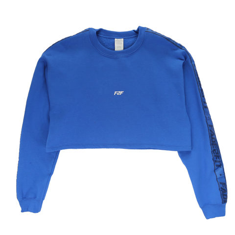 Athletics Crop Crewneck