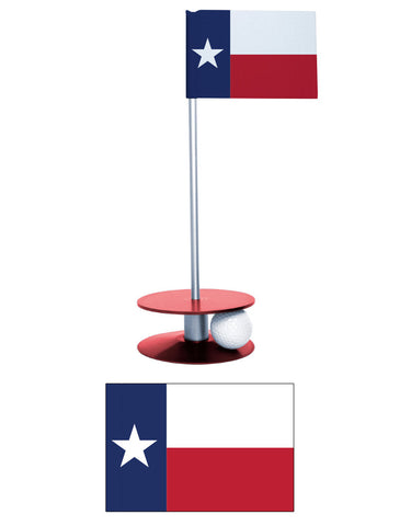 Texas Putt-A-Round Putting Aid. A fun way to improve your short game. A unique gift or tournament prize.
