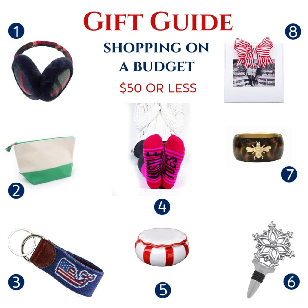Gift Guide for Shopping on a Budget