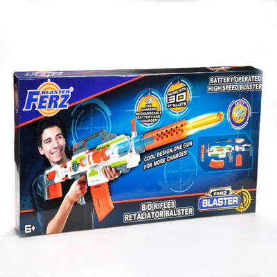 [ Buy 1 Get 1 Free ] B/O, Re-chargeable, Ferz Blaster, Rifles Retaliator & Full Armed Blaster