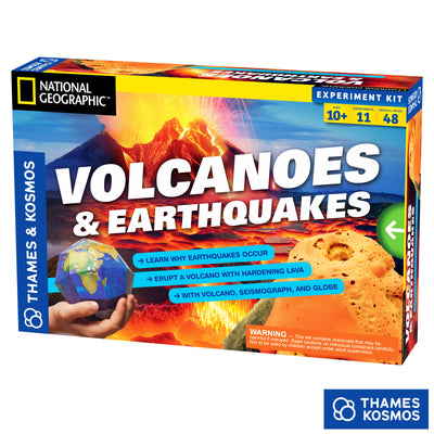 Volcanoes and Earthquakes, Experiment Kit, National Geographic