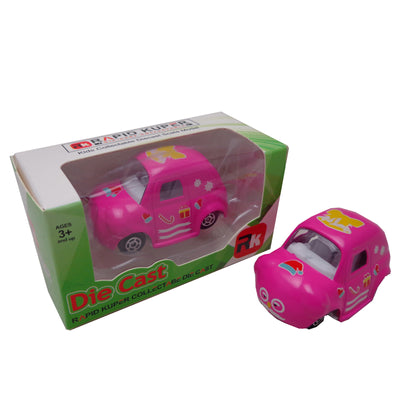 Die Cast - Cartoon Series, Color Dark Pink