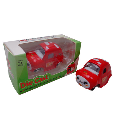 Die Cast - Cartoon Series, Color Red