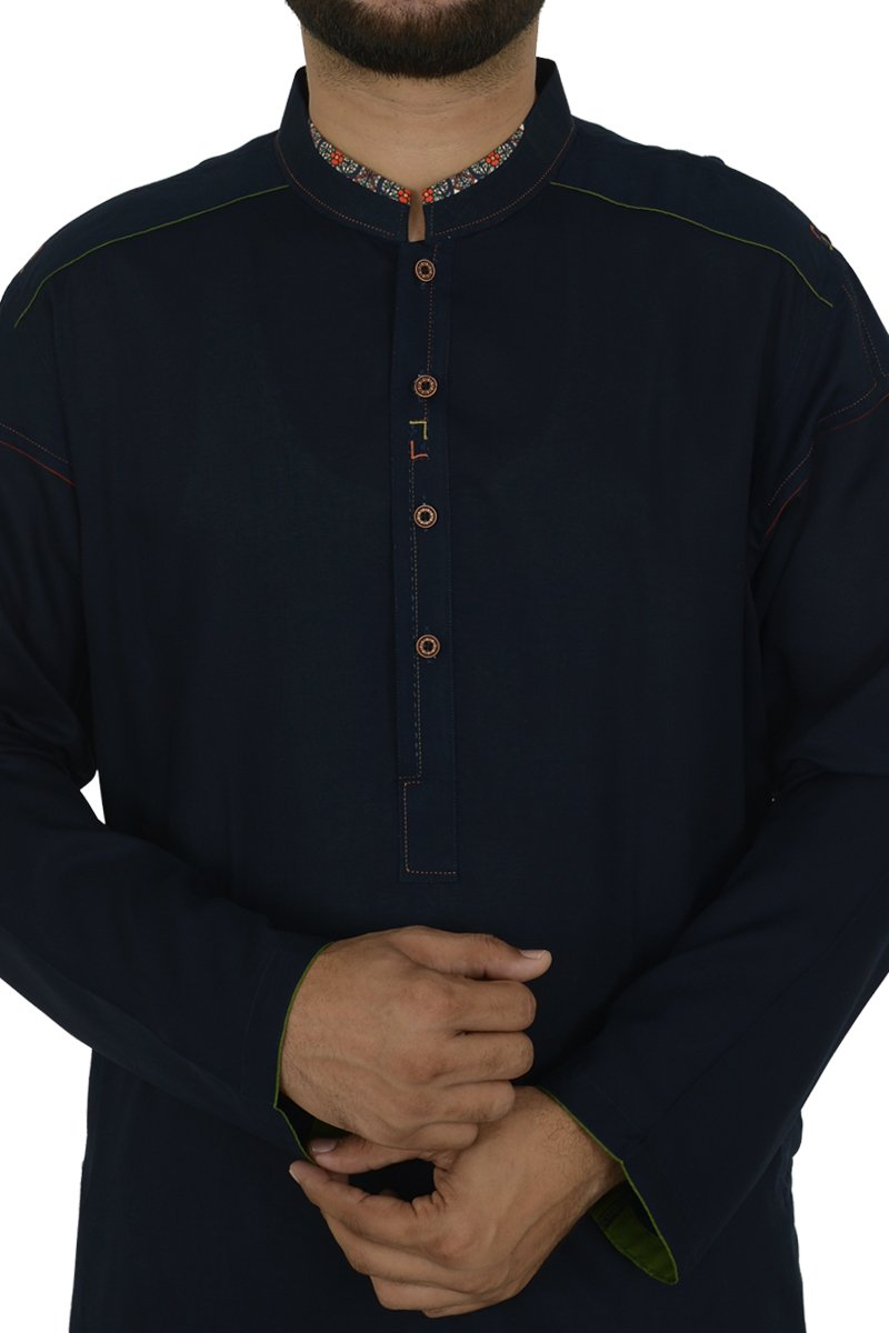 Image of   in Navy Blue SKU: RK-40191-Large-Navy Blue