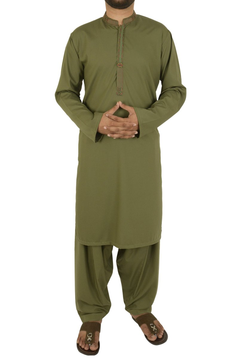 Image of   in Olive Green SKU: RQ-40202-Medium-Olive Green