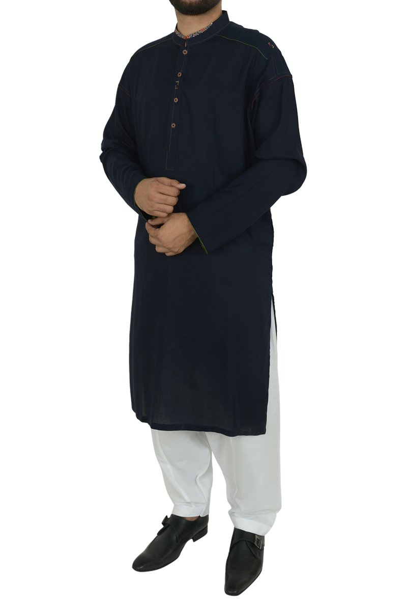 Image of   in Navy Blue SKU: RK-40191-Medium-Navy Blue