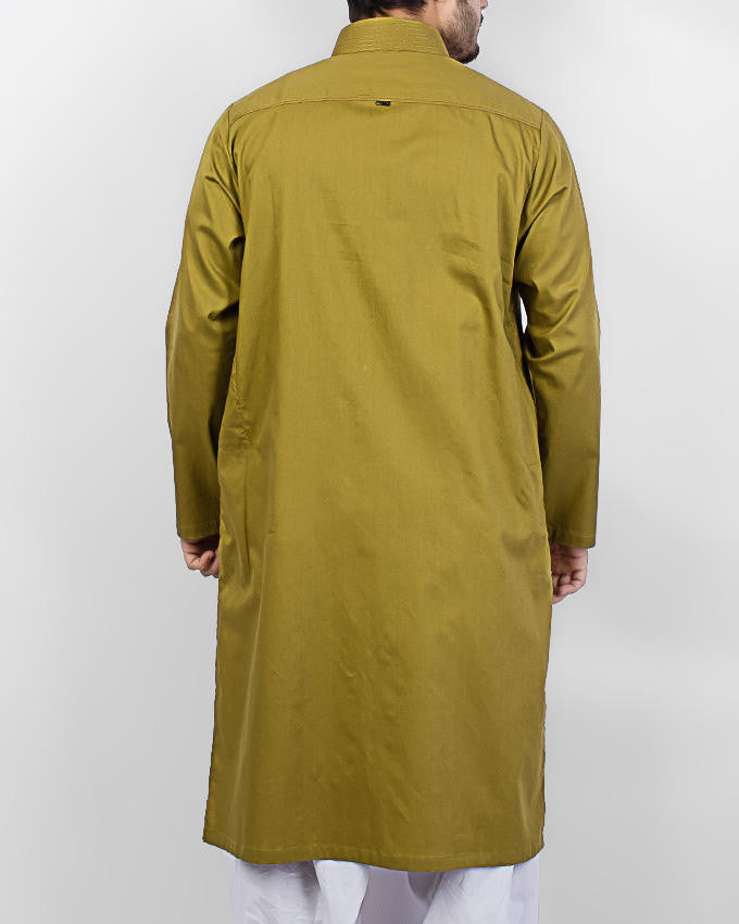 Image of   in Olive Green SKU: RK-15062-Medium-Olive Green