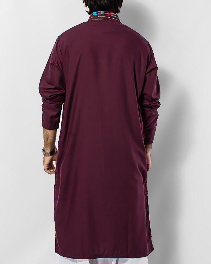 Image of   in Maroon SKU: RK-15025-Medium-Maroon