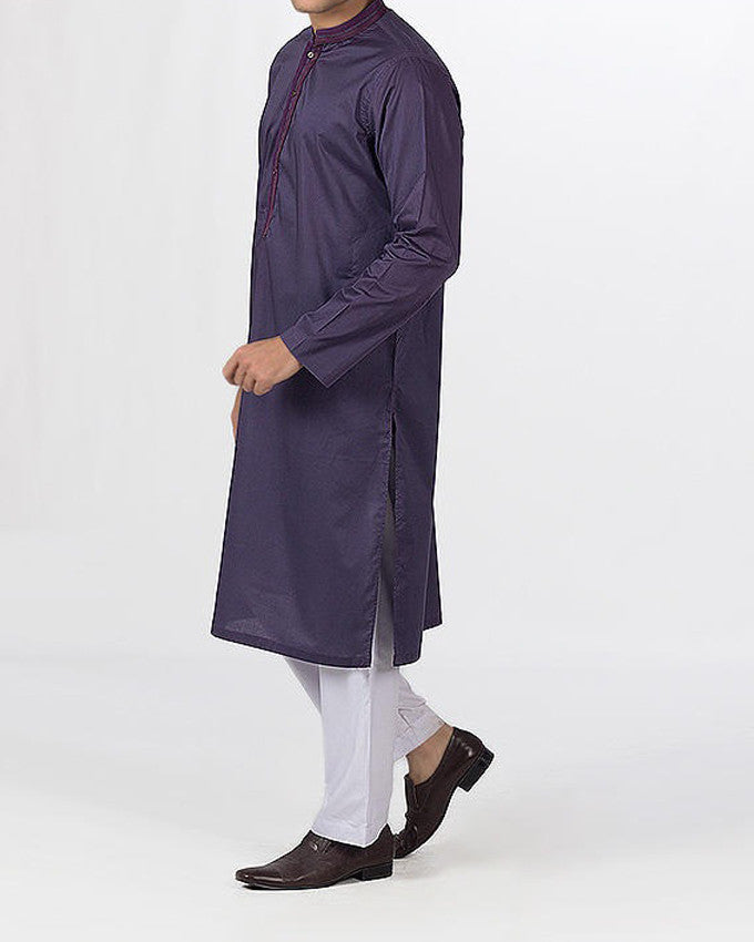 Image of Men Men Kurta in Reddish Voilet SKU: RK-16111-Small-Reddish Voilet