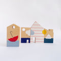 The Little Houses Stories - Wooden Constuction Toy for Toddlers