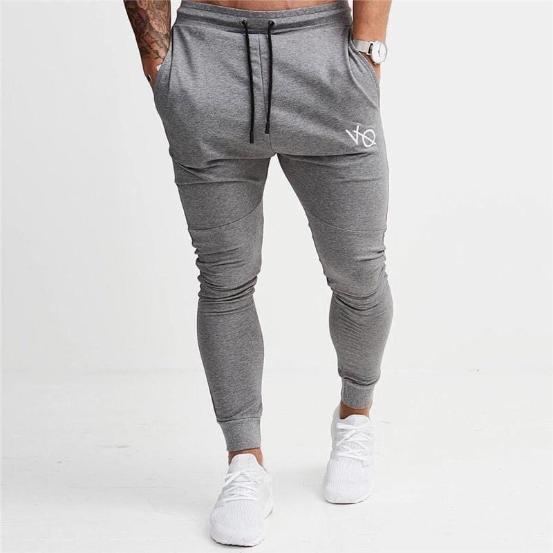 Pants Striped Running Pants Men Sport Pencil - Absolute BLESSINGS