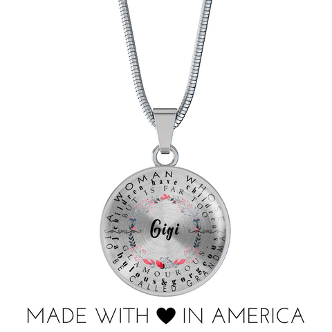 gigi necklace gift