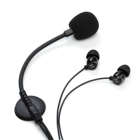 VERTIX BE-01 In-Ear Headset with Boom Mic
