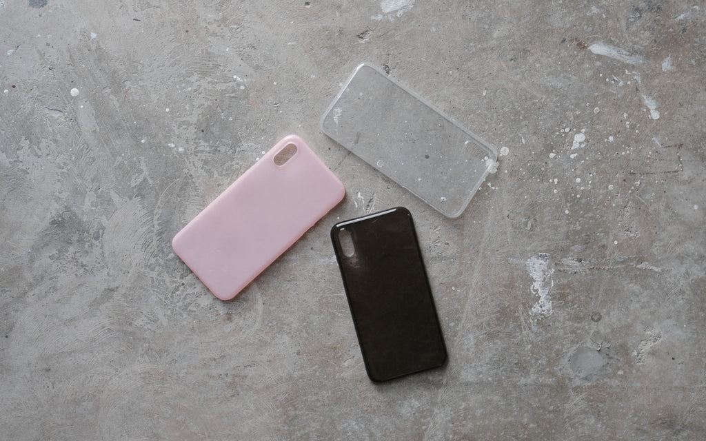 Bare Naked EX Thinnest Clear Case for iPhone X - Available in 3 Colours