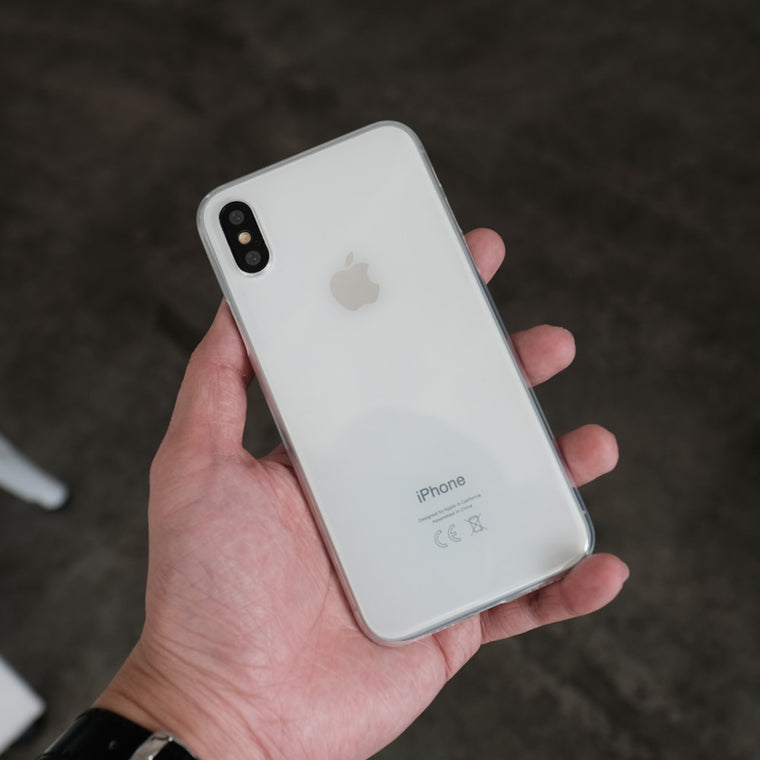 Bare Naked EX Thinnest Clear Case for iPhone X - Clear in Hand - 2