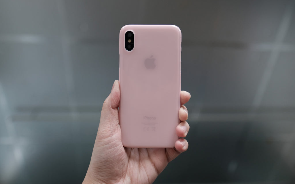 Bare Naked EX Thinnest Clear Case for iPhone X - No Birthmarks - Branding-free